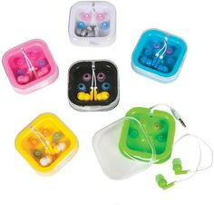 Ear buds with Carry Case Case Pack 144