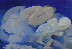 Alina Maksimenko Paintings, Art, Oil on canvas, Postimpressionism