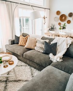 Cozy Cosy Living Room Lounge Room Sofa And Couch Inspo Neutral Home Style Inspir. - Cozy Cosy Living Room Lounge Room Sofa And Couch Inspo Neutral Home Style Inspiration Home Interior - Living Room Lounge, Boho Living Room, Cozy Living Rooms, Apartment Living, Home And Living, Living Room Decor, Modern Living, Small Living, Diy Apartment Decor