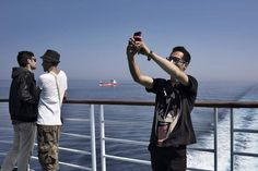 #TIMEDISPATCH A migrant takes a selfie aboard a cruise ship that the Greek government chartered to transport them to Athens from the Greek island of Lesbos.  Photographer Yuri Kozyrev of @noorimages is on a three-week assignment for TIME documenting the refugee and migrant crisis across Europe. Read TIMEs Simon Shusters report on time.com/refugees and see more images on lightbox.time.com by time