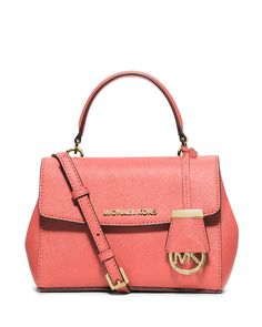 50ac06cc7358 MICHAEL Michael Kors Ava Extra-Small Crossbody Bag, Pink Grapefruit