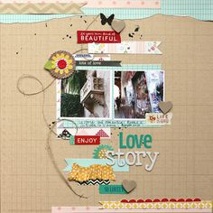 Pebbles Inc: More Scraplifted Projects with Amelie and Eva