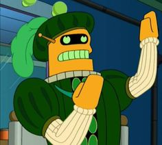 Calculon - Other names he has been known by include: Acting Unit 0.8, Thespo-mat, and David Duchovny.