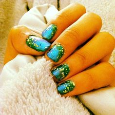 Love these peacock-inspired nails by devnadesai. Tag yours with #SephoraNailspotting for a chance to be featured. #Sephora #nails