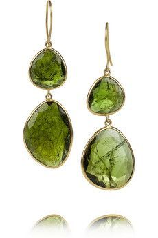 These look like green tourmaline, which I love. {Pippa Small}