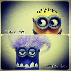 Most of my kids are the purple minions!