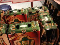 Adventskalender  Selbst gebastelt. Für Männer. Besteht aus 24 Flaschen Bier. Damit man noch ins Büro kommt sind jeweils 6 zusammen gefasst für den Samstag.