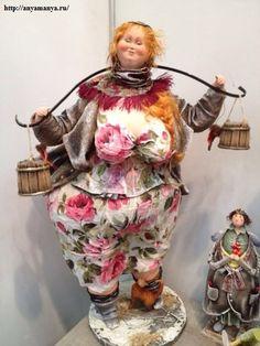 Dolls from the creative duet АняМаня from Kazan (Russia) http://anyamanya.ru/gallery/avtorskie_kukly/2/