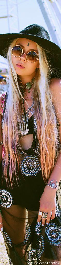 Coachella - hippie festival style