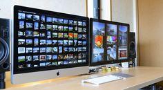 iMac 27inch with Cinema Display 27inch