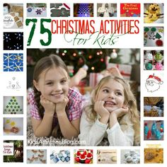 Great list:  75 Christmas Activities for Kids to do!