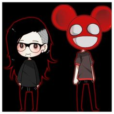 Skrillex and Deadmou5 together atleast,they should SO do a colab song