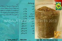 chaat masala Chaat Masala Recipe in Urdu & English by Rida Aftab