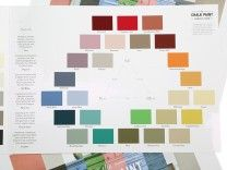 Annie Sloan Chalk Paint Colour Card Chart