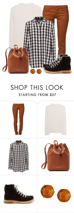 """""""Untitled #1542"""" by gallant81 ❤ liked on Polyvore featuring ONLY, iHeart, Equipment, Mansur Gavriel, Montelliana and Ippolita"""