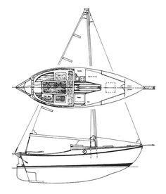 Cape George Cutters § Falmouth Cutter 22' § Cecil Lange