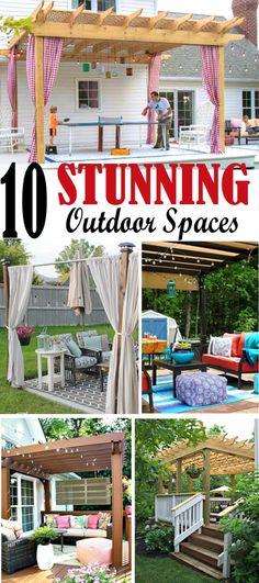 Gorgeous decks and patios.