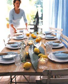 Charme des Südens - Sommerliche Tischdekoration 13