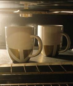 diy mug art, crafts, painting, Bake in the oven at 350 degrees for 30 minutes You ll also want to double check the instructions on whichever medium you choose