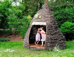 HappyModern.RU | Детские домики своими руками (59 фото): варианты игровых построек для детей | http://happymodern.ru