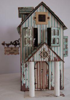 Beach House - adorable! #crafts