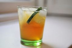 "How could you not want to make a drink called "" el chupacabra""? And it has mixes Pimms with Tequila brilliantly..."