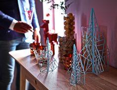 Árvores que não são árvores.  #decoração #Natal #IKEAPortugal