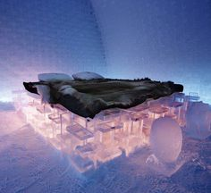 The Ice Hotel - Explore the World with Travel Nerd Nici, one Country at a Time. http://TravelNerdNici.com