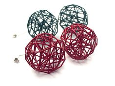 Si è cercato jewellery - nykyinen Jewelry Show, Jewelry Design, Jewelry Making, Designer Jewellery, Coral Design, 3d Design, Heart Diy, 3d Printed Jewelry, Plastic Design