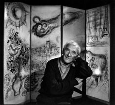 Marc Chagall, photo by Yousuf Karsh