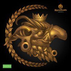 Golden Goblin Emblem by Gimaldinov on deviantART
