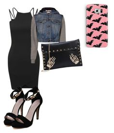 """Untitled #9"" by alevsumer on Polyvore featuring AX Paris, Moschino and Samsung"