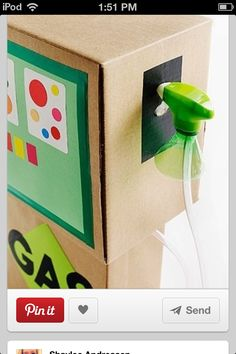 Really cute gas box for valentines day!! Must do