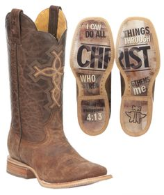 Each ‪#‎TinHaul‬ boot has their own unique sole. Discover them all at Cavender's!