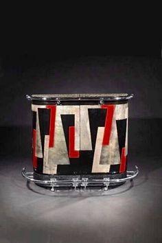 Kittyinva: 1928 Bar designed by Jean Dunand. From Art Deco, FB.