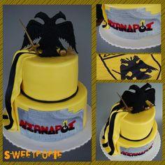 aek cake - Cake by Sweetpopie cakes Birtday Cake, Amazing Cakes, Anna, Basketball, Sweets, Facebook, Birthday, Desserts, Food