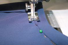 Attaching a band collar - Salme Patterns Blog