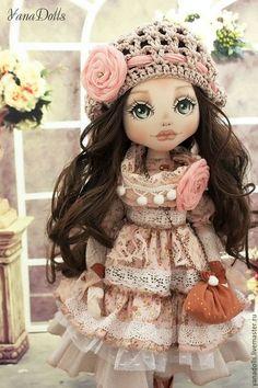 Коллекционные куклы ручной работы. Полина. YanaDolls. Интернет-магазин Ярмарка Мастеров. Кукла ручной работы, текстиль, батист