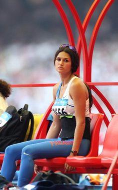 Leryn Franco, 54 Kg, Track And Field, Female Athletes, Bikini Models, Beijing, Olympics, 1, Wonder Woman