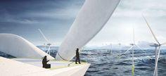 Morphocode Unveils Plans for Crazy Home Set Atop an Offshore #WindTurbine