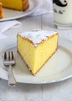 Andante con gusto: Torta Paradiso: ai pazienti il Ciel l'aiuta. Sweet Desserts, Sweet Recipes, Cornbread, Vanilla Cake, Bakery, Cheesecake, Sweets, Ethnic Recipes, Biscotti
