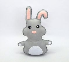 Stuffed Bunny Rabbit PATTERN  Sew by Hand by LittleHibouShoppe, $4.00
