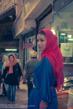Vibrant Iranian Editorials - The FSHN 'Tehran Face-Off' Photoshoot Stars Shabnam Molavi (GALLERY)