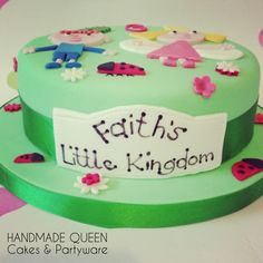 Ben Holly's Little Kingdom Cake #littlekingdom #benholly