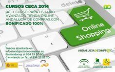 """La CONFEDERACIÓN EMPRESARIAL DE COMERCIO DE ANDALUCÍA CECA lanza un curso formativo on-line, para el correcto manejo de la interfaz de Andalucía de Compras, así como de la tienda virtual, cuyo principal objetivo es conseguir gestionar de una manera fácil y eficiente su tienda on-line en la plataforma virtual Andalucía de Compras, denominada """"Usuario Avanzado Tienda on-line Andaluciadcompr@s"""".  Si desea más información sobre el #curso, llámanos al 954 222 270."""