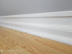 How-to Beef Up Your Baseboards for Cheap - Love, Pomegranate House Baseboard Ideas, Baseboard Styles, Baseboards, Bedroom Colors, Pomegranate, Style Ideas, Bathroom Ideas, Sweet Home, Creativity