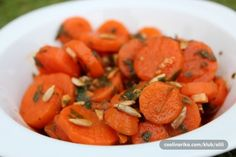 Ruska Salata, Salad Dressing, Macarons, Sweet Potato, Great Recipes, Carrots, Cake Recipes, Salads, Food And Drink