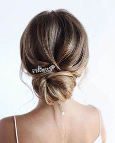 100 Prettiest Wedding Hairstyles For Ceremony and Reception messy updo bridal ha. - 100 Prettiest Wedding Hairstyles For Ceremony and Reception messy updo bridal hairstyle,updo hairst - Low Bun Hairstyles, Wedding Hairstyles For Long Hair, Wedding Hair And Makeup, Bride Hairstyles, Indian Hairstyles, Hairstyle Short, School Hairstyles, Office Hairstyles, Stylish Hairstyles