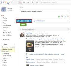 Google+ : définissez les contacts de « Vos cercles »