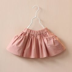 Wholesale 2015 Kids Girls Pleated Tutu Skirts with Pocket Design Princess Elastic Waist Pink and Yellow Color Cute Party Skirt, Free shipping, $7.63/Piece | DHgate Mobile